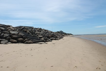 Eastham Cape Cod vacation rental - Beach in front of house