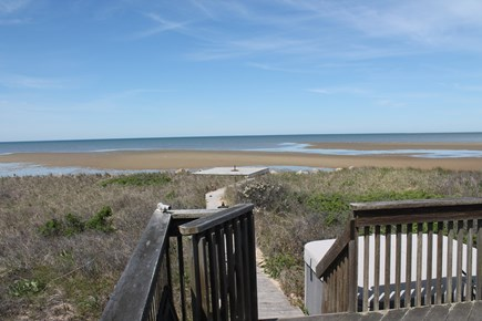 Eastham Cape Cod vacation rental - View from Front Deck
