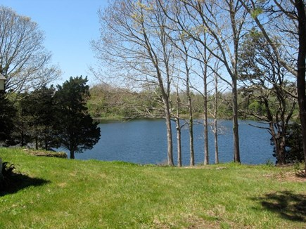 East Orleans Cape Cod vacation rental - View of Uncle Harvey's Pond from Kitchen, Dining, Porch, LR