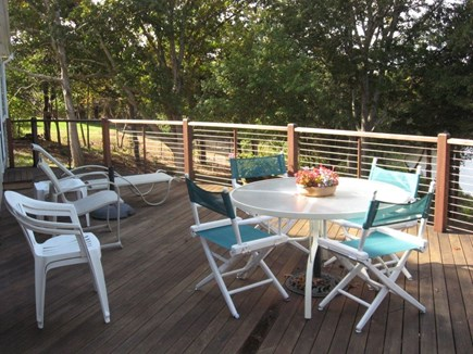 East Orleans Cape Cod vacation rental - Deck dining and relaxing for you to enjoy!