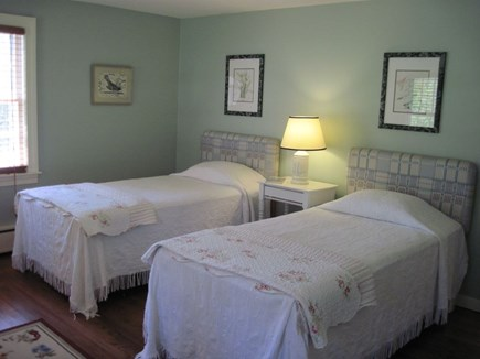 East Orleans Cape Cod vacation rental - Twin Beds with Upholstered Headboards - New Mattresses