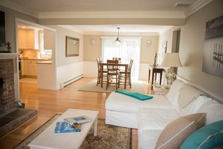 Orleans Cape Cod vacation rental - Living room/dining room.