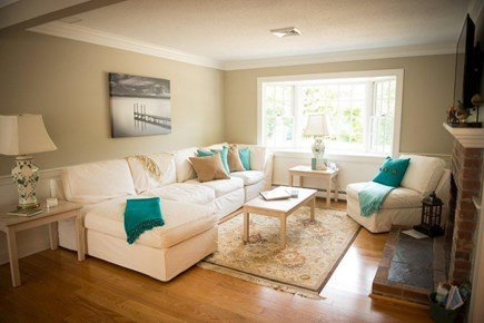 Orleans Cape Cod vacation rental - Cozy living room.
