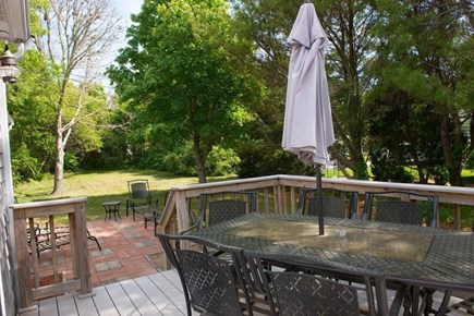 Orleans Cape Cod vacation rental - Lovely, private back yard.