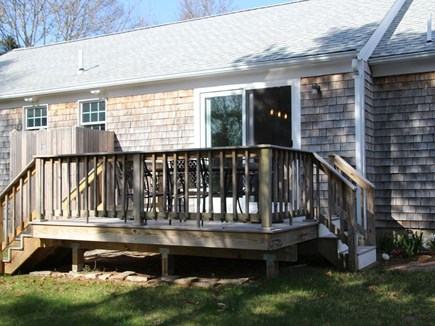 Orleans Cape Cod vacation rental - Back deck.