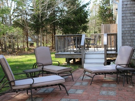 Orleans Cape Cod vacation rental - Patio area in the backyard.