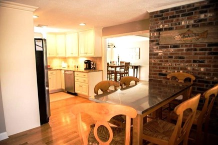 Orleans Cape Cod vacation rental - Kitchen, bar top and dining room.