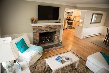 Orleans Cape Cod vacation rental - Living room with flat screen TV.
