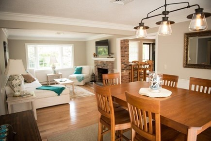 Orleans Cape Cod vacation rental - Dining/Living area.