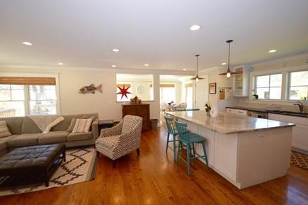 Wellfleet Cape Cod vacation rental - Open kitchen/ living area- lots of light