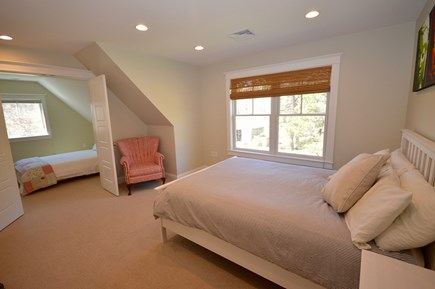 Wellfleet Cape Cod vacation rental - Upstairs bedroom with queen and full in separate small room