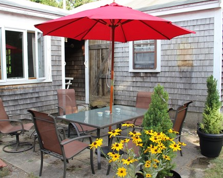 Harwich Cape Cod vacation rental - Patio with Grill for cooking