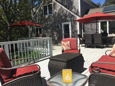 Chatham Cape Cod vacation rental - Enjoy a barbecue on the deck