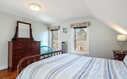 Chatham Cape Cod vacation rental - 4th bedroom --  upstairs, attached 5th bed. (w. futon) & 1/2 bath