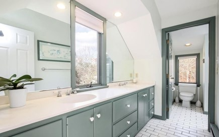 Chatham Cape Cod vacation rental - Master bedroom's en suite (with large walk-in shower)