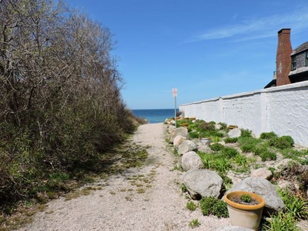 Falmouth, Woods Hole Cape Cod vacation rental - Beach path