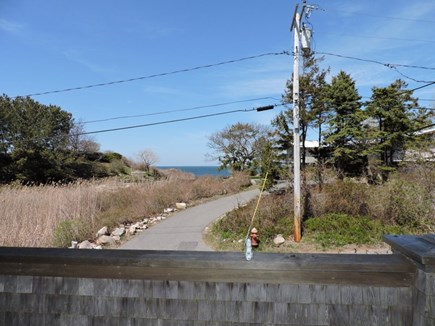 Falmouth, Woods Hole Cape Cod vacation rental - View of path to the beach
