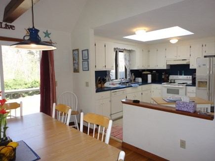 Brewster Cape Cod vacation rental - Dining to Kitchen