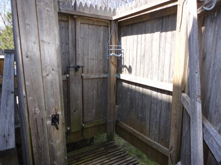 Brewster Cape Cod vacation rental - Outside Shower