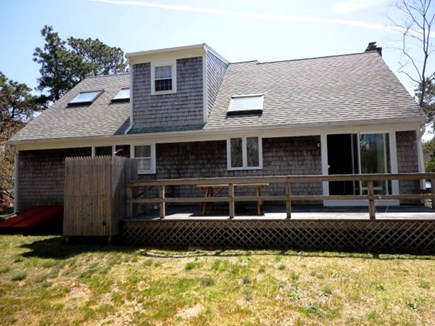 Brewster Cape Cod vacation rental - Backyard and deck