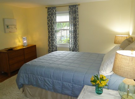 Falmouth Cape Cod vacation rental - Spacious master with A/C