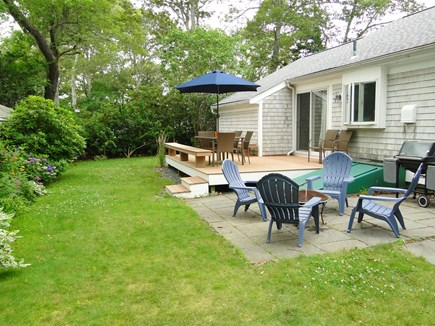 Falmouth Cape Cod vacation rental - Two great places to rest and dine