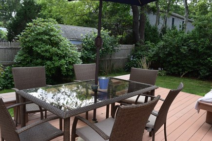 Falmouth Cape Cod vacation rental - Outside dining