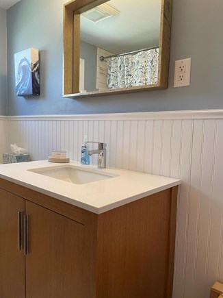 Falmouth Cape Cod vacation rental - stylish, updated bath with tub