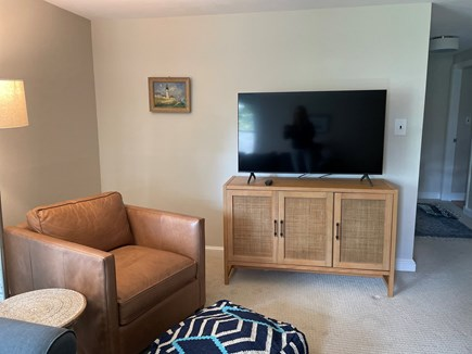 """Falmouth Cape Cod vacation rental - 55"""" smart TV"""