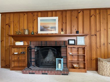 Falmouth Cape Cod vacation rental - wood burning fireplace