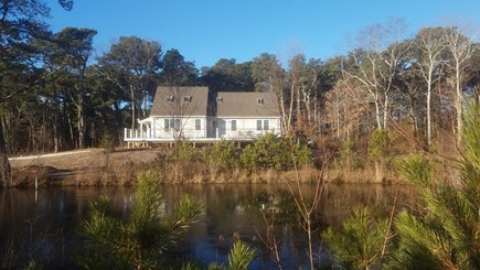 East Sandwich Cape Cod vacation rental - View of house with pond