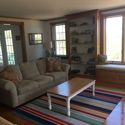 East Sandwich Cape Cod vacation rental - Charming Living Room complete with interesting books and games
