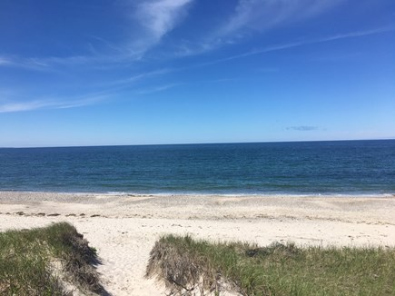 East Sandwich Cape Cod vacation rental - Private East Sandwich Beach- just 300 yards away from house