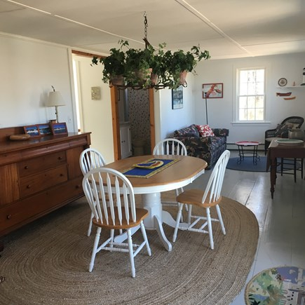 East Sandwich Cape Cod vacation rental - Dining Room/Sitting Room with pull-out couch