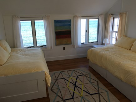 Woods Hole Woods Hole vacation rental - Path to beach from yard