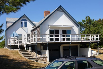 Woods Hole Woods Hole vacation rental - Enjoy lovely water views from this wrap around deck!