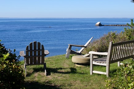 Woods Hole Woods Hole vacation rental - Spectacular Views  of Buzzards Bay from the expansive lawn!