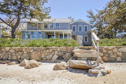 Woods Hole Woods Hole vacation rental - Back of house from Private Beach