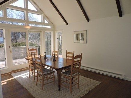 Falmouth Cape Cod vacation rental - Dining Area with access to the deck