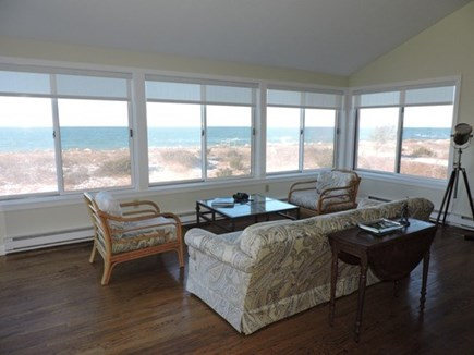 Falmouth Cape Cod vacation rental - Living Room with panoramic water views