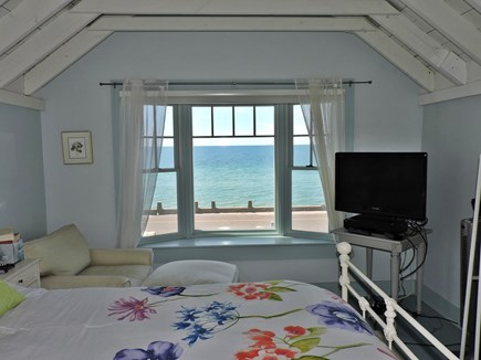West Falmouth Cape Cod vacation rental - Master bedroom with beautiful water views