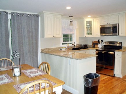 Brewster Cape Cod vacation rental - Dining area into kitchen