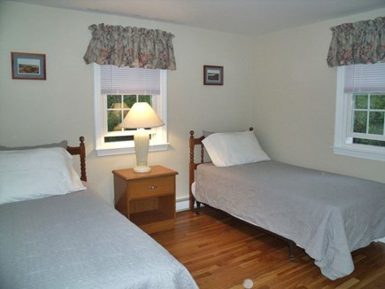 Brewster Cape Cod vacation rental - 2nd bedroom with two twin beds