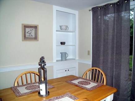 Brewster Cape Cod vacation rental - Dining area leads to deck