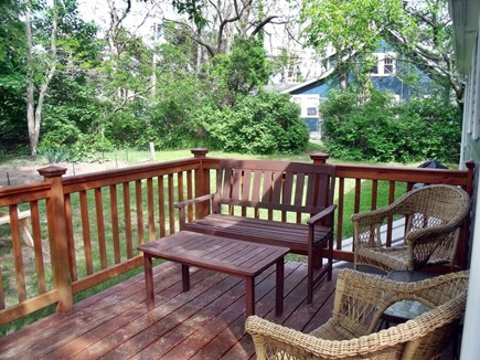 Eastham Cape Cod vacation rental - Wraparound deck looks out onto the spacious yard