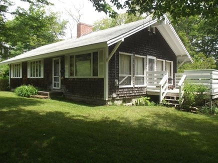 Woods Hole Woods Hole vacation rental - Lush yard with outdoor living space