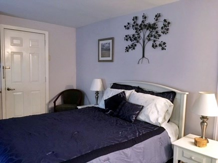 Eastham Cape Cod vacation rental - Doorway to deck queen size bed