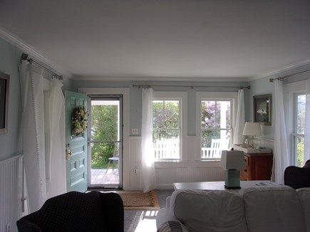 West Falmouth Cape Cod vacation rental - Sun-filled living room