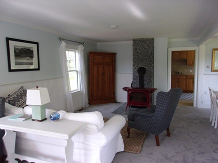 West Falmouth Cape Cod vacation rental - Open living room