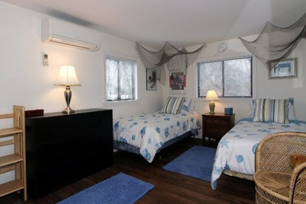 East Dennis Cape Cod vacation rental - Bedroom 2 Main floor (2 Twin)